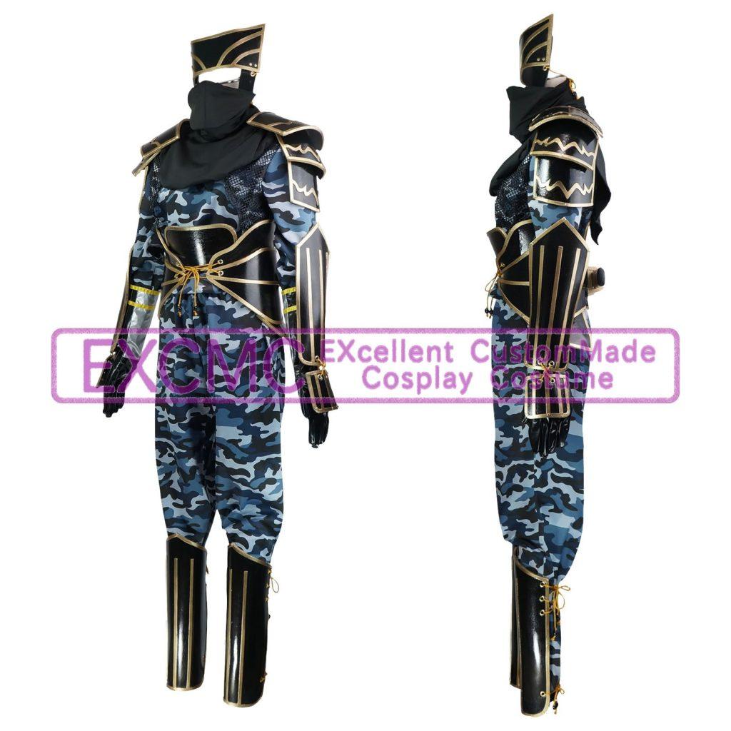 戦国BASARA2 猿飛佐助 第弐衣装 風 コスプレ衣装1